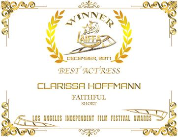 Two BEST ACTRESS awards for FAITHFUL